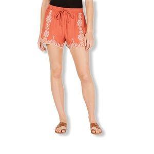 Bebop Juniors Shorts Rust/Natural